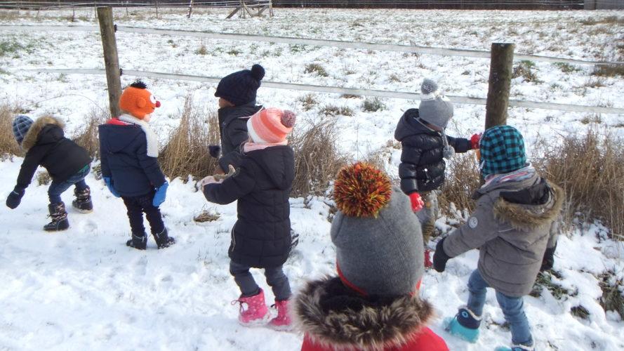 Classes d'accueil et de M1 (Mmes Florence et Stéphanie) -  Sortie en hiver
