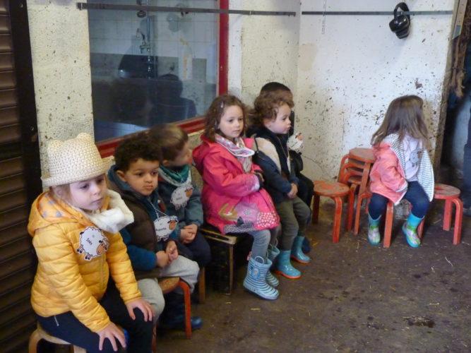 1ère maternelle: Une journée à la ferme de Juseret: le 01 avril 2019
