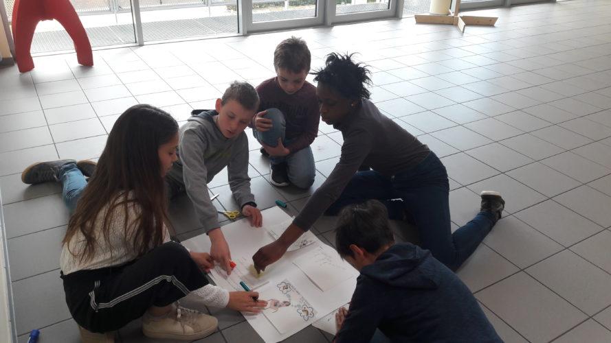 P5-P6: Préparation du conseil communal des enfants - mai 2019